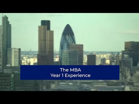 The Mba Experience Year One
