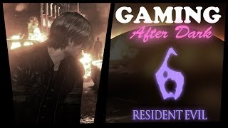 Gaming After Dark ASMR - Resident Evil 6 (Whispered + Gum Chewing)