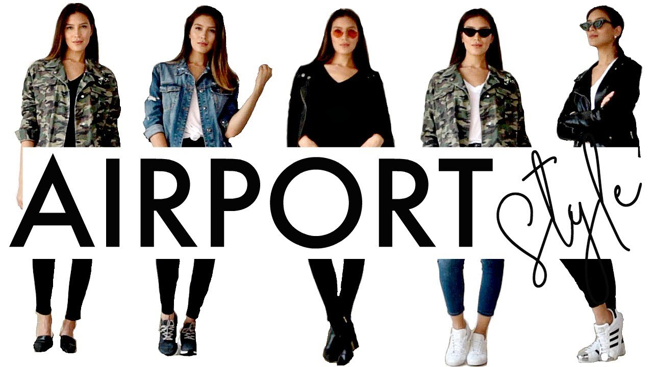Airport Style / LOOKBOOK / Outfit Ideas 2018