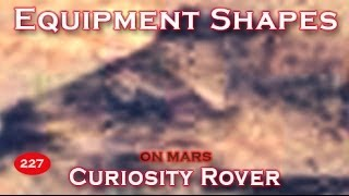 Possible Equipment / Buildings On Mountain Point To Life On Mars?!