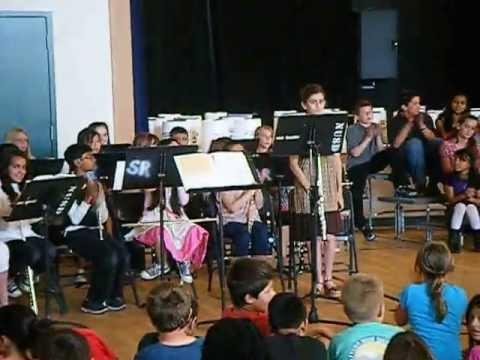 san ramon elementary school band #4