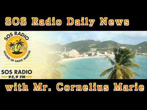 SOS Radio 959 News Update SXM - Cornelius Marie (Professor Salt)