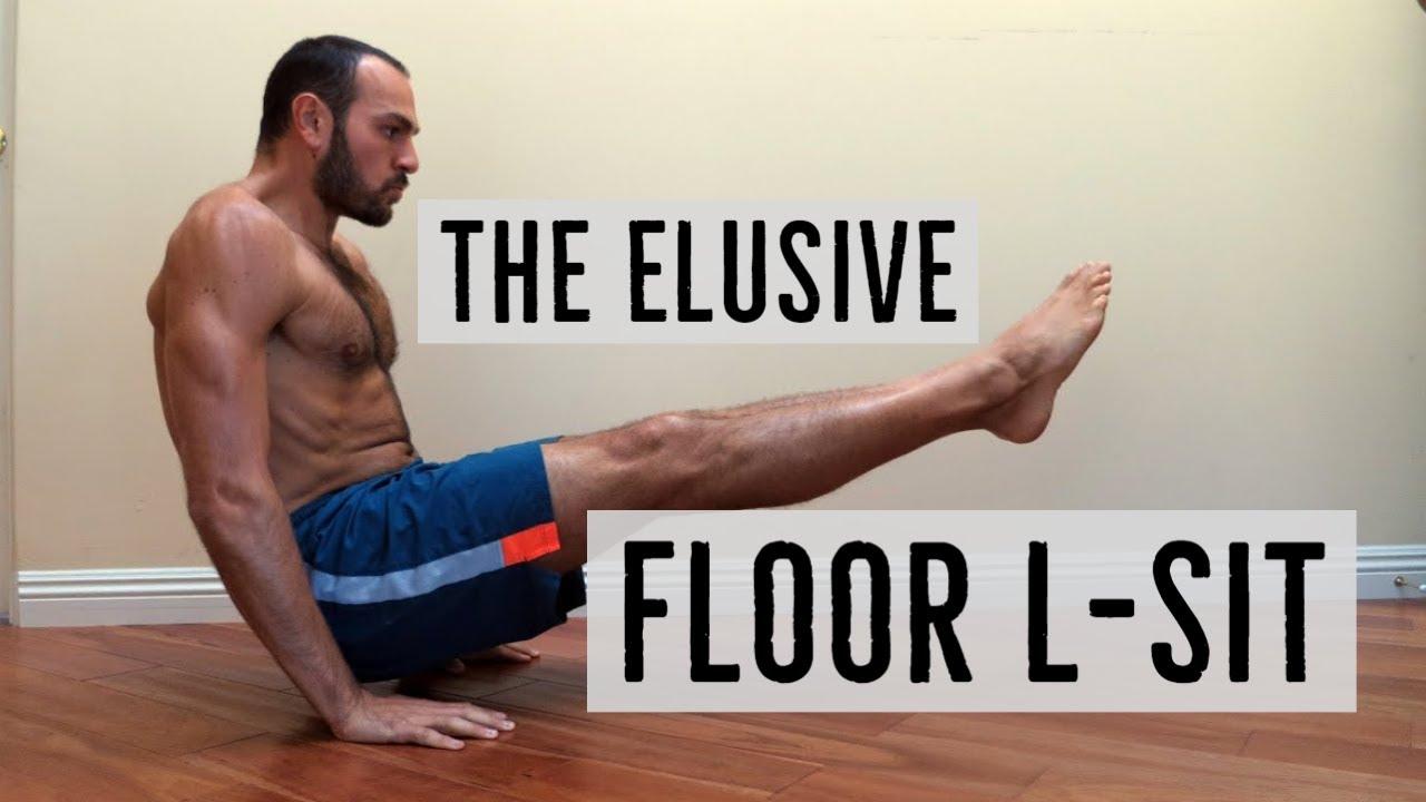 yoga l sit