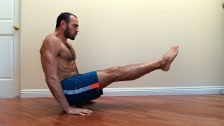 Floor L-sit Progression Tutorial by Antranik