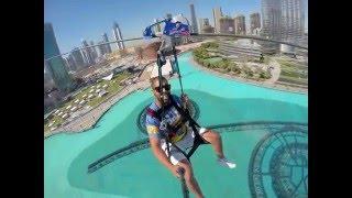 Flying Kiwi on X-Dubai Zipline