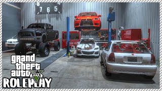 GTA 5 ROLEPLAY - Buying 7 New Cars to Sell at Garage | Ep. 387 Civ