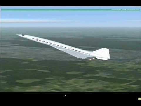 FSX 2707 MOSCOW TO NEW YORK