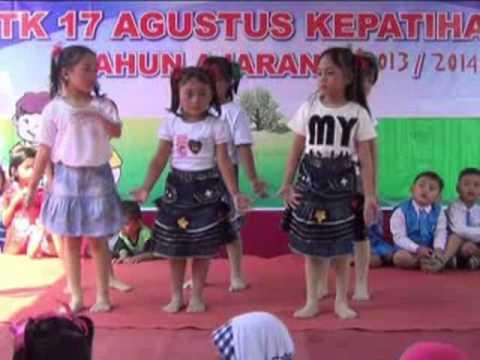 Tari Tanjung Perak @Kreasi Anak TK 17 Agustus Kepatihan
