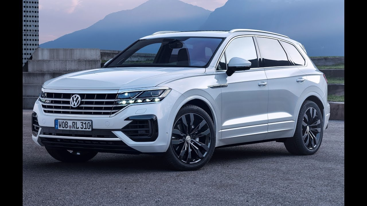 2019 VW Touareg R-Line - Interior Exterior and Drive