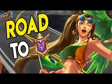 Road To GM: GOTA GET MASTER FIRST - Cassie Ranked Paladins Gameplay
