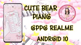 CUTE BEAR PIANO FULLTHEME FOR OPPO/REALME ANDROID 10 screenshot 3