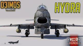 War Thunder: Foguetes HYDRA (G-91 GAMEPLAY)
