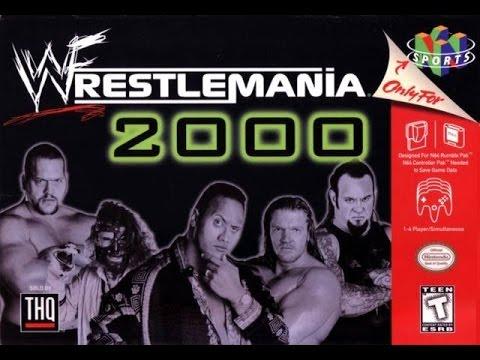 WWF Wrestlemania 2000 N64 720P HD Playthrough
