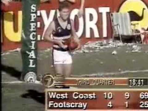 West Coast Vs Footscray 1994 Highlights