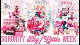 Ole Miss sorority big/lil week ✰ reveal + what we gave our little!!