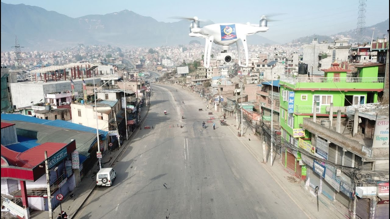 UAV to monitor Lockdown