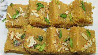 Besan ki barfi recipe in hindi/How to make besan ki barfi