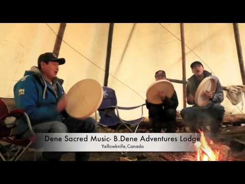 Dene sacred drumming music 2~B.Dene Adventures ,Yellowknife