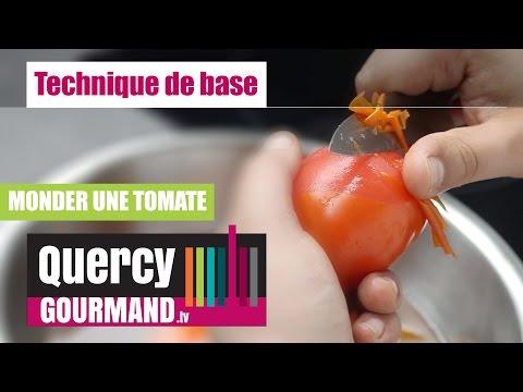 Comment monder, ou peler une tomate –  quercygourmand.tv