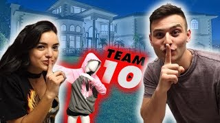 MERCH PRANK ON TEAM 10 (they got mad)