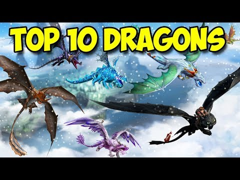 Dragons: Rise of Berk - TOP 10 Best Dragons