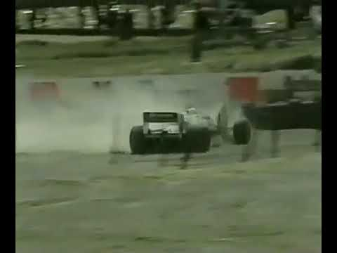 1983 Formula One @ South Africa - Lafitte Crash