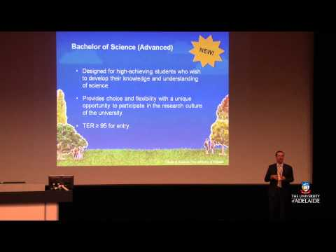 Open Day 2012: Science Experience at the University of Adelaide