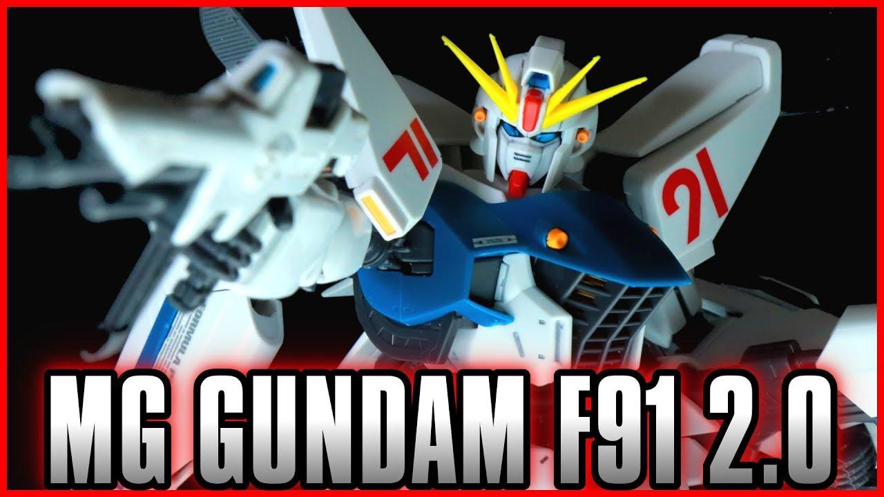 Download Master Grade MG 1/100 Gundam F91 Ver. 2.0 - MOBILE SUIT GUNDAM F91 -