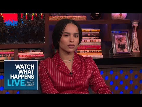 Zoë Kravitz On 'Big Little Lies' Season 2 And Meryl Streep  WWHL