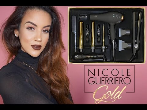 Nicole Guerriero Gold x Bellami Hot Tools Kit + Easy Effortless Hair ... 5d1ca8c956