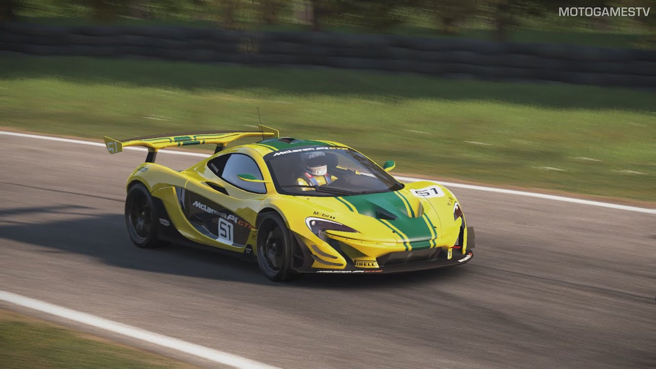 Project cars 2015 mclaren p1 gtr mod at oulton - Project cars mclaren p1 ...