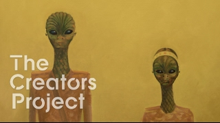 Delivering a Message from Outer Space | Alien Encounter Art