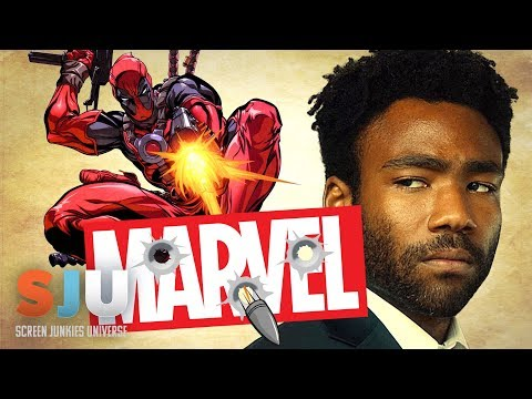 Donald Glover Fires Shots at Marvel in Deadpool Script! - SJU