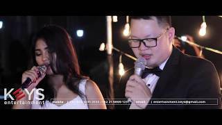 You Are The Reason - Calum Scott ft. Leona Lewis (cover by KEYS Wedding Entertainment Jakarta) Video