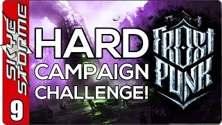 Frostpunk Hard Campaign Challenge - EP 9 THE FINAL STORM - HARD MODE PWNED!