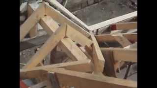 Constructie acoperis in doua ape  2