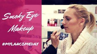 #mylancomeday Smoky Eyes Makeup. Тушь для ресниц Grandiose от Lancome