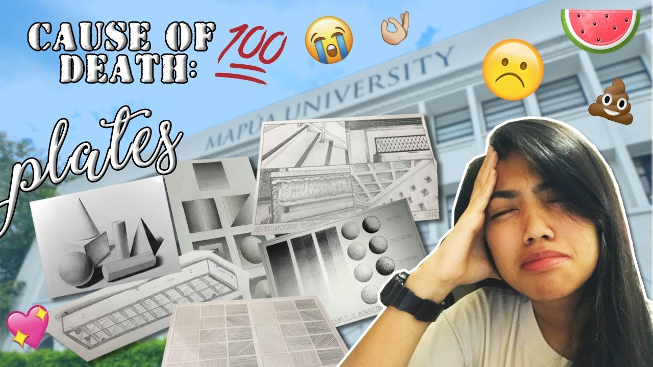 Vlog 33 First Day Of College In Mapua University 2018 Tambak Agad Plates Philippines Youtube
