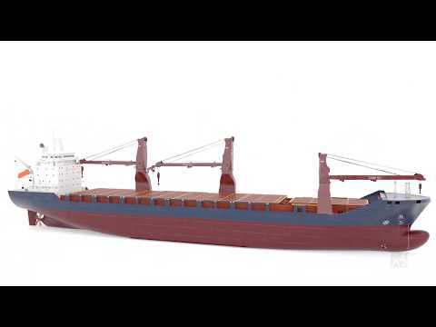 Admaren - Heavy Lift Multipurpose Vessel Animation