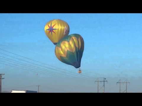 Balloon Crashes, Albuquerque, NM.