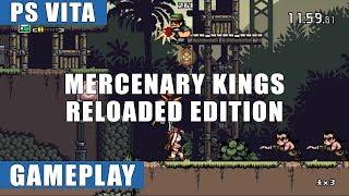 Mercenary Kings Reloaded Edition PS Vita Gameplay