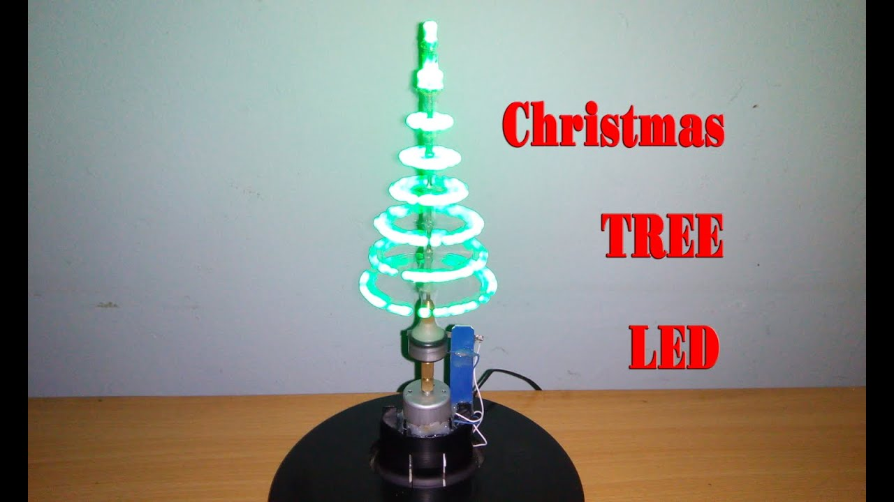 how to make christmas tree led diy homemade youtube - Led Christmas Tree