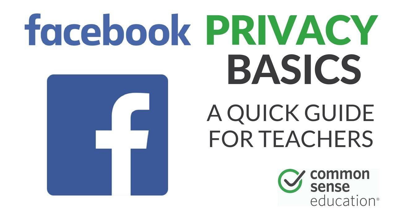 facebook privacy basics for teachers youtube rh youtube com Teacher Background Facebook Covers Teacher Facebook Policy