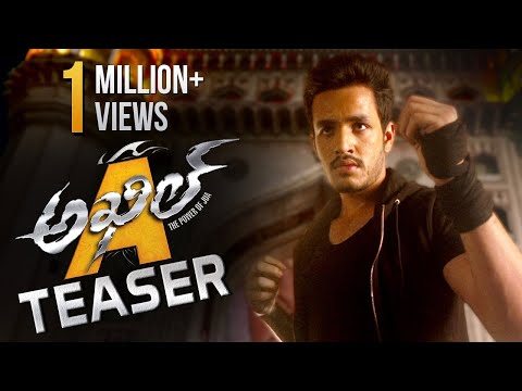 Akhil Movie Teaser || Akkineni Nagarjuna Birthday Special