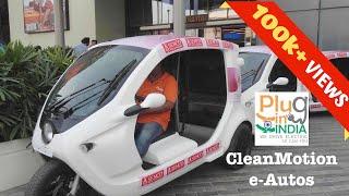 CleanMotion ZeeBee : e-Auto/e-Rickshaw
