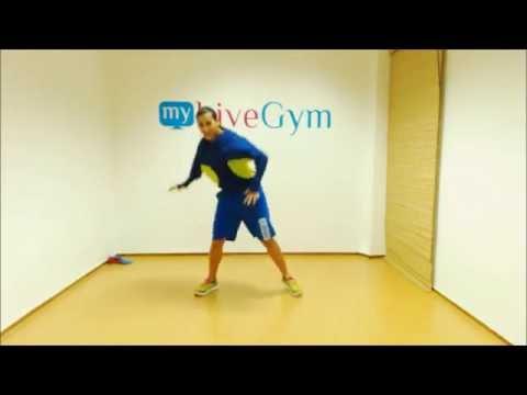 Dance Fitness με κινήσεις ζούμπα στο MyGym
