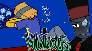 Just Listen | Villainous Comic Dub Commission Paperhat