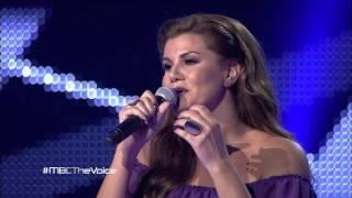 MBC The Voice - رنين الشعار - Berivan - مرحلة الصوت وبس