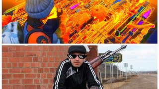 RUSSIAN GANGSTER HAS MODDED GUNS (Scammer Get Scammed) Fortnite
