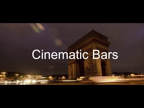 How To Add Cinematic Bars | WonderShare Filmora Tutorial